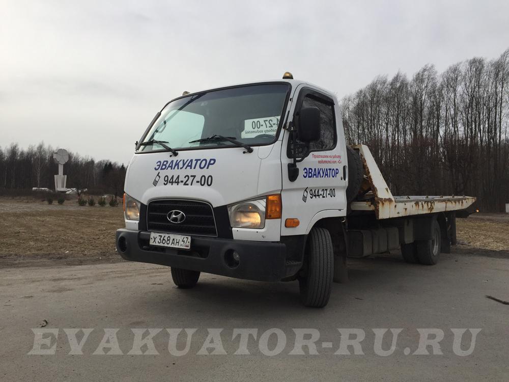 Стоимость услуги эвакуатора в Кировском районе от 1000 руб/час
