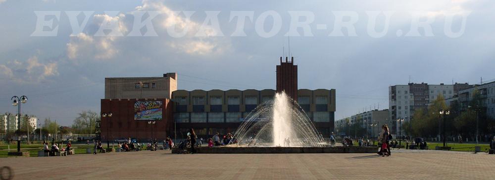 На территории Тосненского района работают эвакуаторы компании EVAKUATOR-RU.RU.