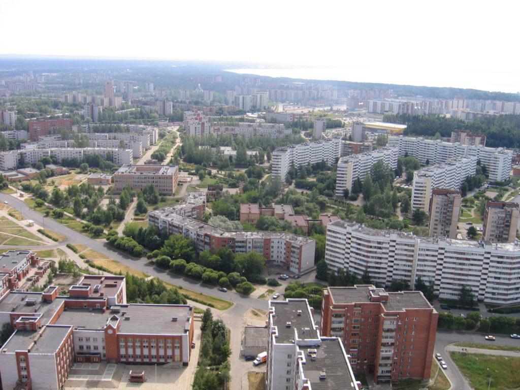 Сосновый Бор административный центр Сосновоборского округа Ленинградской области