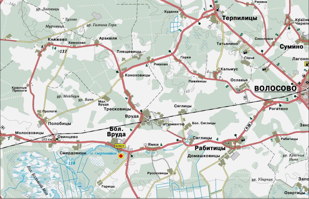 Мы предлагаем услуги эвакуатора на всей территории Волосовского района