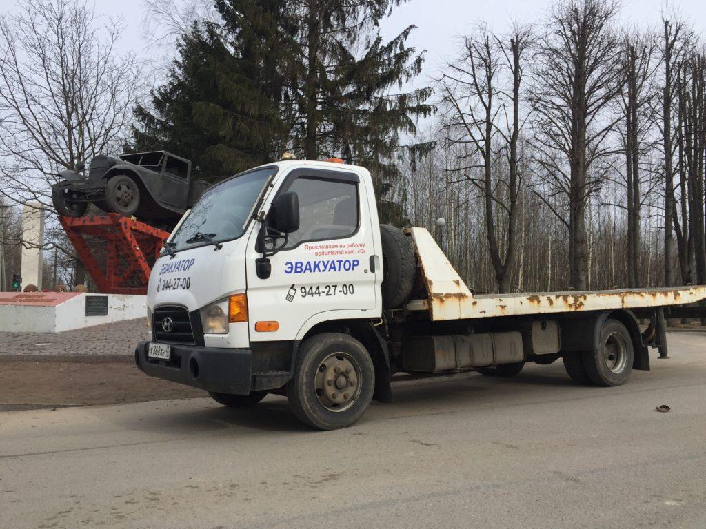 Эвакуатор во Всеволожске быстро и надежно всего от 1000 рублей