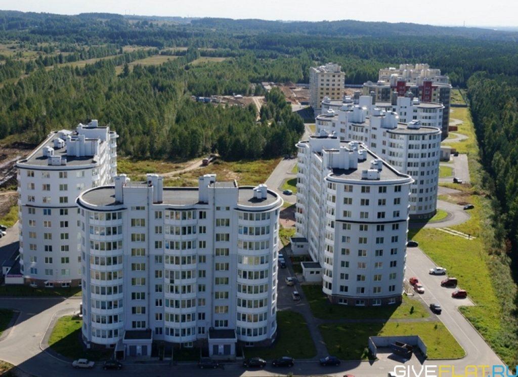 Всеволожск наиболее застраивваемый город в Ленинградской области