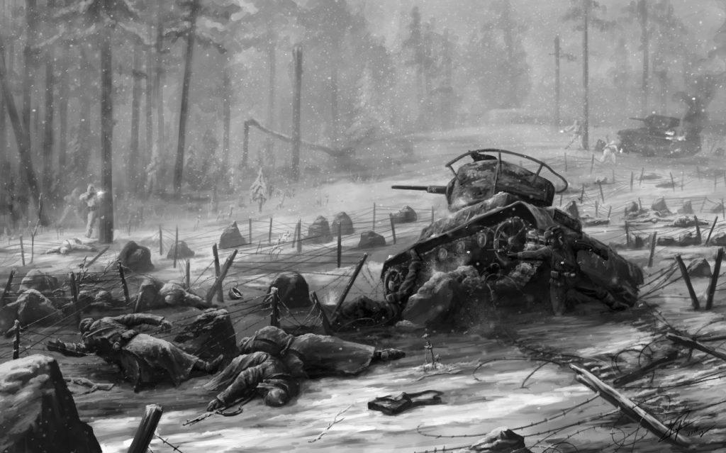 В годы Северной Войны финны захватили территорию на которой находился поселок Териоки (Зеленогорск)