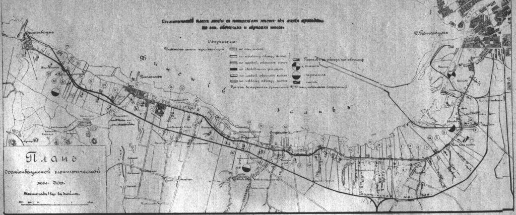 На оккупированной территории  Стрельны немецкими войсками была создана колония